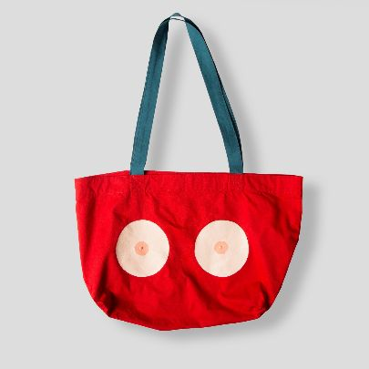 Picture of red tote bag