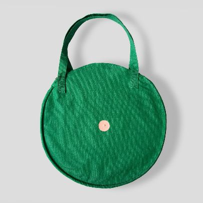 Picture of green round bag