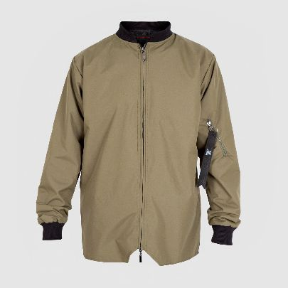 Picture of green pilot jacket