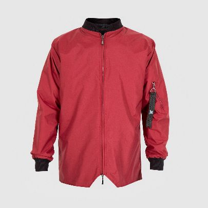 Picture of red pilot jacket