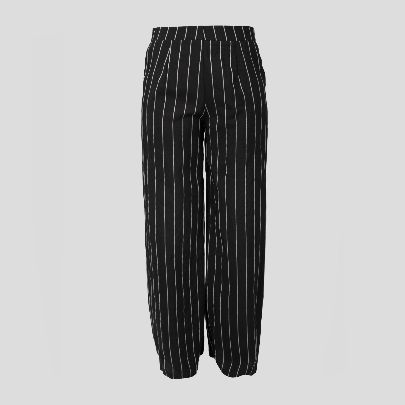Picture of black stripes pants