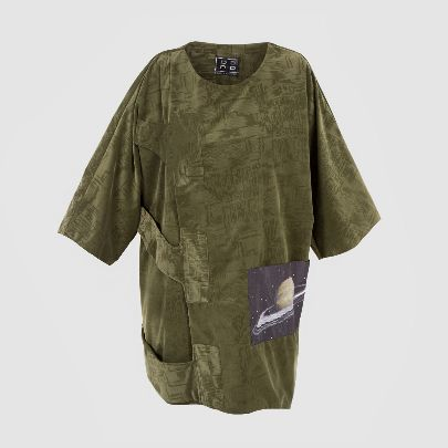 Picture of saturn green blouse