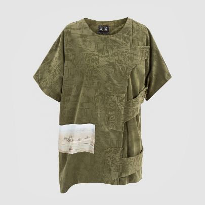 Picture of mercury green blouse