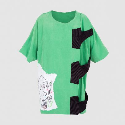 Picture of gholam green blouse