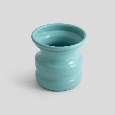 تصویر گلدان آبی