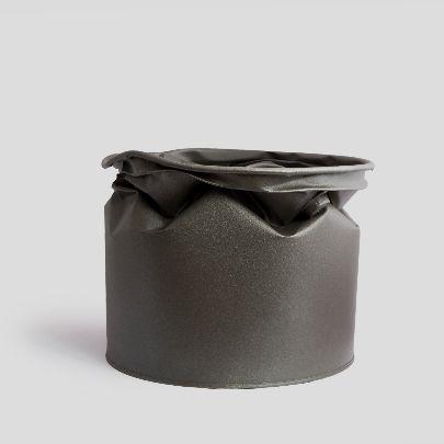 Picture of dark grey vase