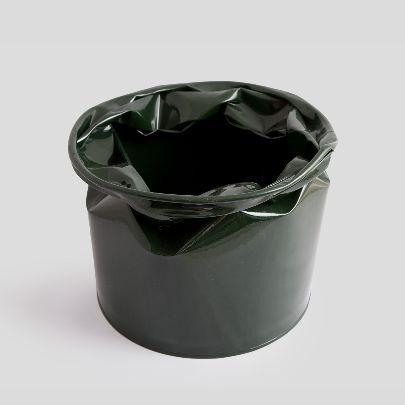 Picture of dark green vase