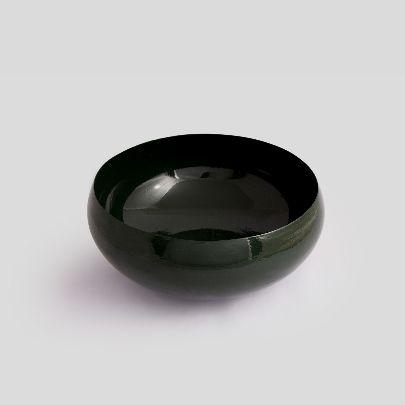 Picture of black round vase