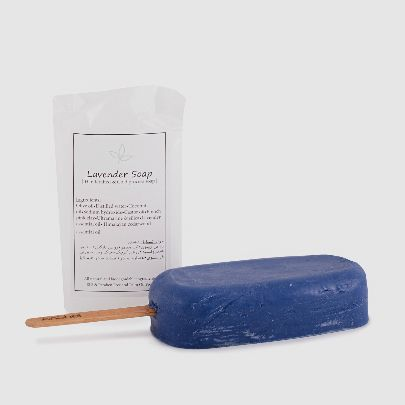 Picture of lavender soap