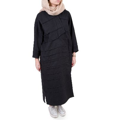 Picture of black overcoat