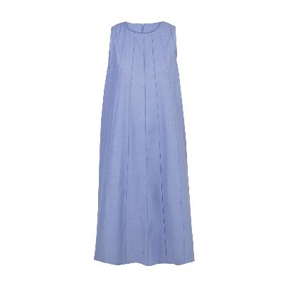 Picture of long blue dress