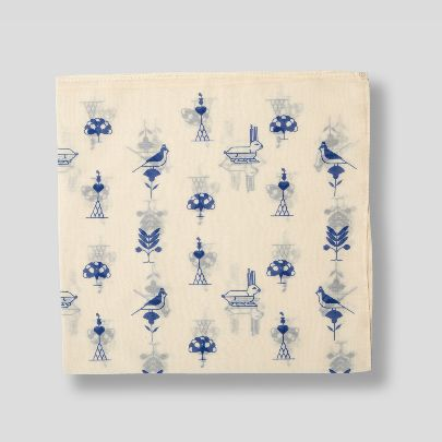 Picture of blue garden bandana