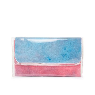 Picture of middle size blue water color hangbag