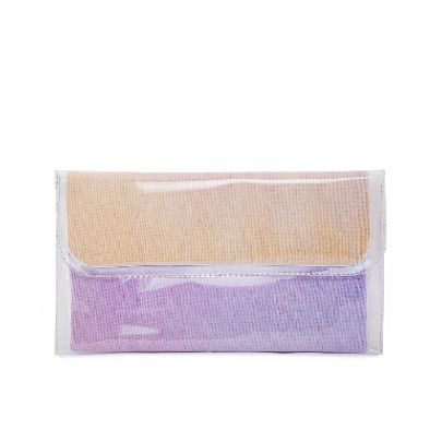 Picture of small size purple water color hand bag