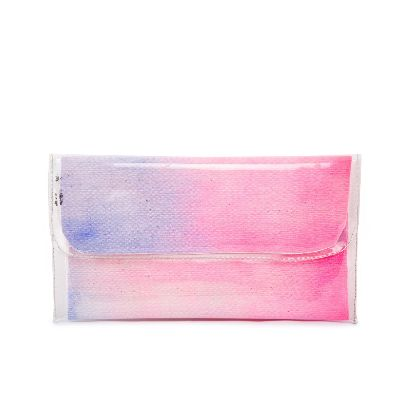 Picture of small size pink water color handbag