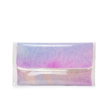 Picture of small size light purple water color hand bag