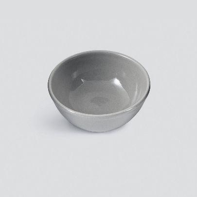 تصویر کاسه کوچک خاکستری