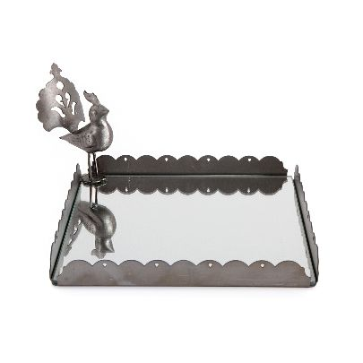 Picture of square bird tray