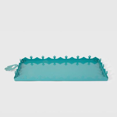 Picture of blue jamshid tray
