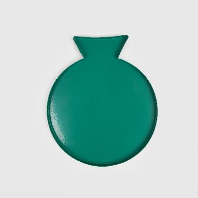 Picture of green pomegranate plate