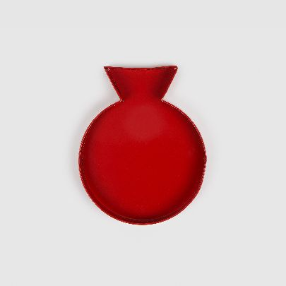 Picture of red pomegranate plate