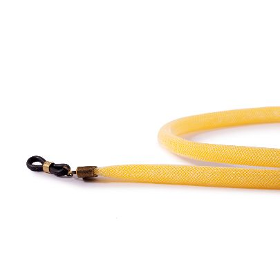 Picture of yellow sunglasses strap