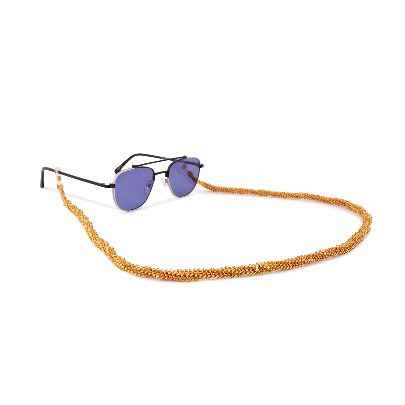 Picture of gold sunglasses strap