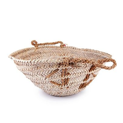 Picture of woven straw basket