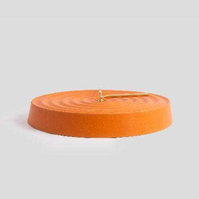 تصویر ساعت نارنجی