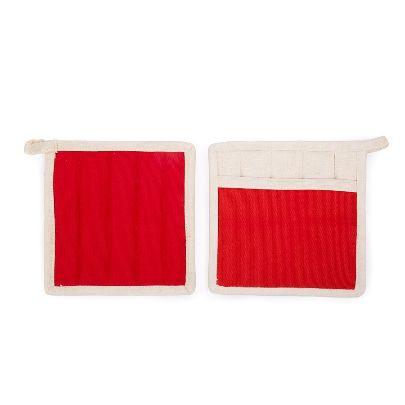 تصویر دستگیره مربعی قرمز