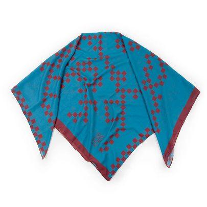 تصویر روسری آبی