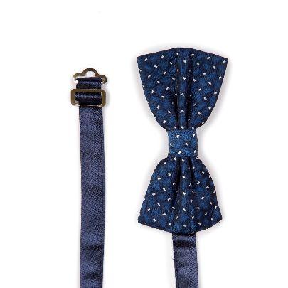Picture of dark blue bowtie