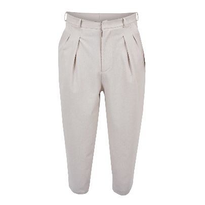 Picture of creme men trousers