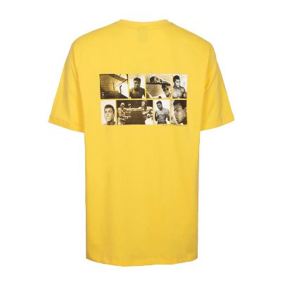 Picture of yellow back pictorial ُُshirt