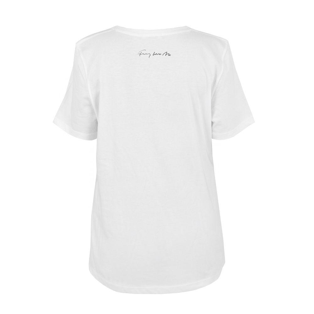 Picture of white women t-art shirt
