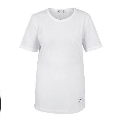 تصویر آستین کوتاه سفید تیآرت مردانه