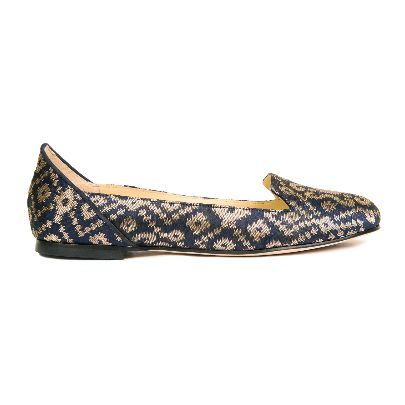 Picture of (midnight in banaras flat shoes (r