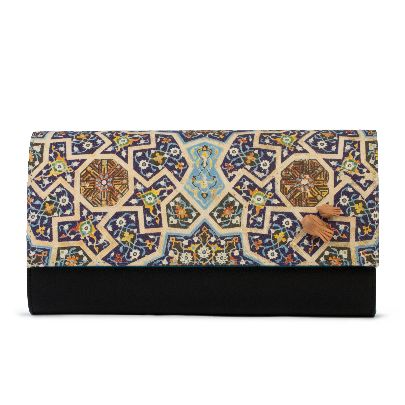 Picture of dome clutch bag