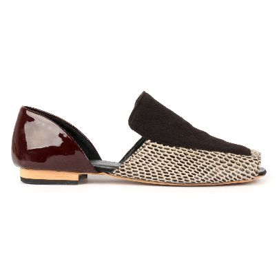 Picture of zheensnakeskinflatshoes