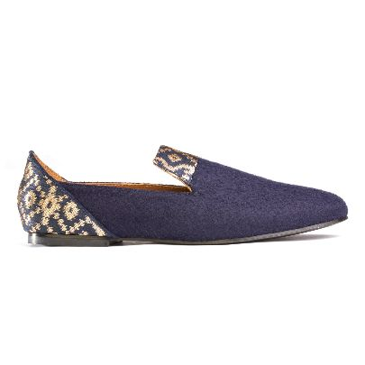 Picture of bote a mano golden star of banaras loafers