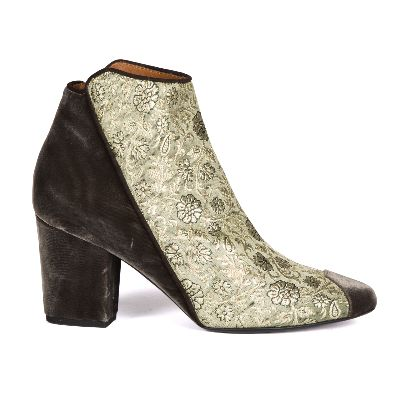 Picture of green ankle boot
