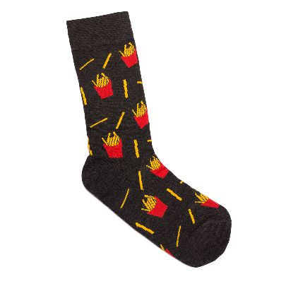 Picture of french fries socks