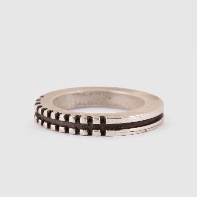 Picture of pasha moezzi silver ring