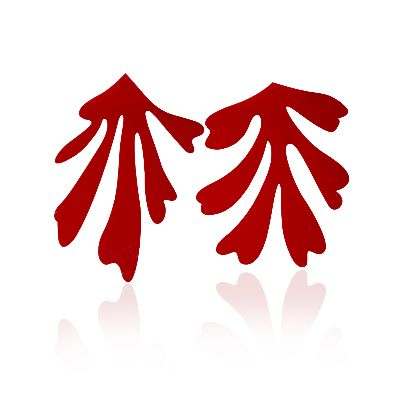 تصویر گوشواره قرمز۳ ل جرب هنری ماتیس
