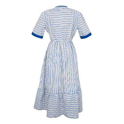 Picture of sanaz nataj striped dress