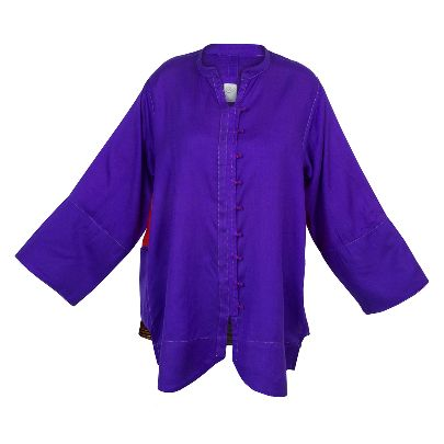 Picture of purple shirt