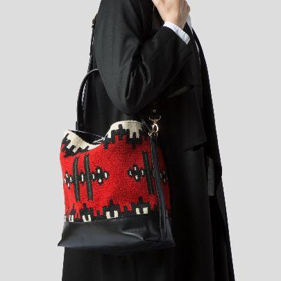 تصویر کیف بزرگ گل بی بی