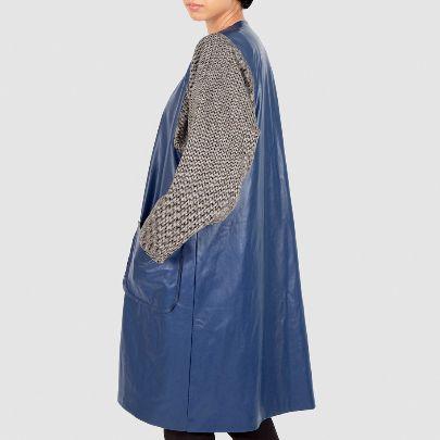 Picture of blue raincoat