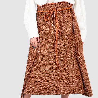 Picture of orange skirt