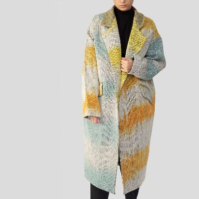 Picture of colorful coat
